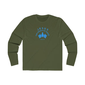 Jesus Prince of Peace Men's Long Sleeve Crew Tee