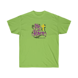 He is Risen Women's Ultra Cotton Tee