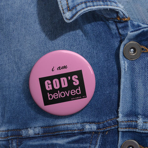 Beloved Custom Pin Buttons