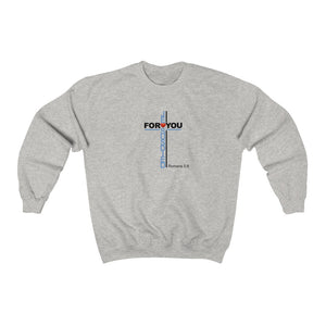 Jesus Died For You Men Unisex Heavy Blend™ Crewneck Sweatshirt