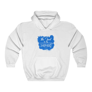 The Lord is My Shepherd Men Unisex Heavy Blend™ Hooded Sweatshirt