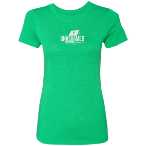 Unashamed Ladies Triblend Tee Shirt