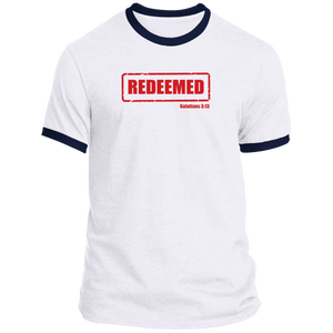 Redeemed Men's Ringer Tee