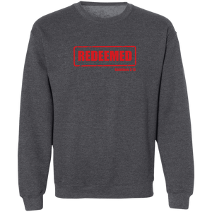 Redeemed Men's Crewneck Pullover Sweatshirt