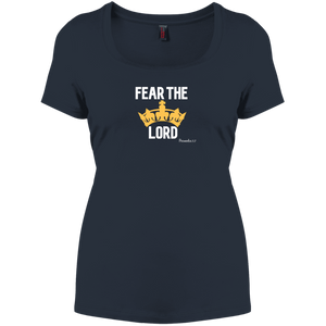 Fear The Lord Women's Perfect Scoop Neck Tee