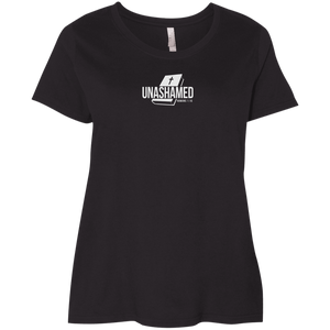 Unashamed Ladies Curvy Tee Shirt