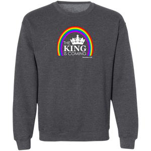 The King is Coming Men's Crewneck Sweatshirt