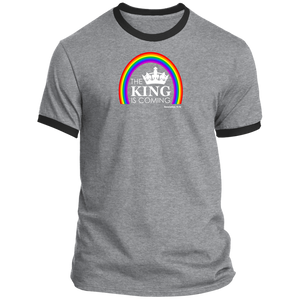 The King is Coming Men's Ringer Tee