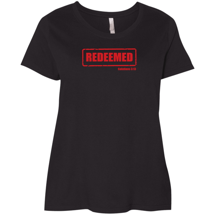 Redeemed Ladies Curvy Tee