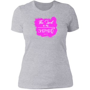 The Lord is My Shepherd Ladies Boyfriend Tee