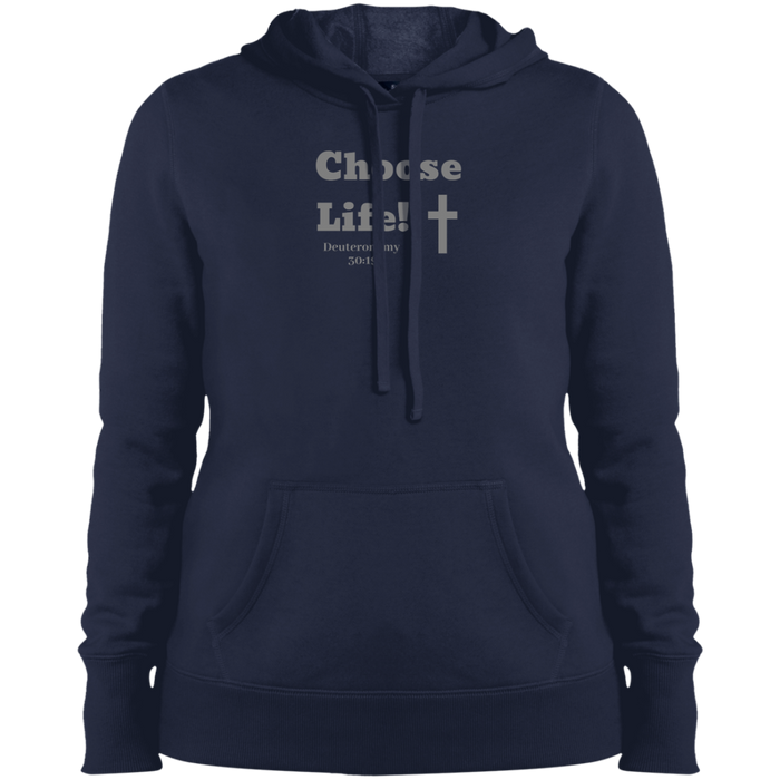 Choose Life 2.0 Ladies Pullover Hooded Sweatshirt