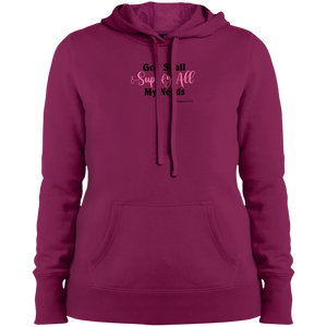God Shall Supply Ladies Pullover Hooded Sweatshirt