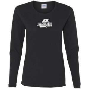 Unashamed Ladies Cotton LS Tee Shirt