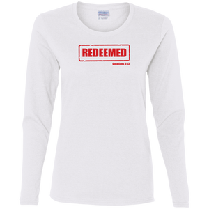 Redeemed Ladies Cotton LS Shirt