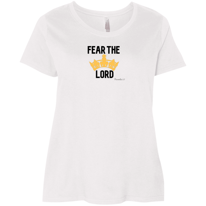 Fear the Lord Ladies Curvy Tee Shirt