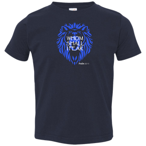 Whom Shall I Fear Kids Toddler Jersey Tee Shirt