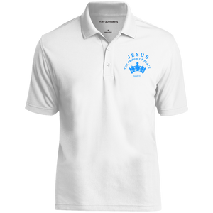 Prince of Peace Men's Dry Zone UV Micro-Mesh Polo