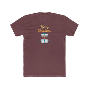 Merry Christmas Men's Cotton Crew Tee
