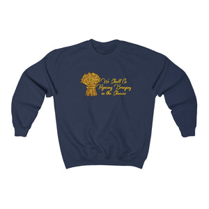 We Shall Go Rejoicing Bringing in the Sheaves Men Unisex Heavy Blend™ Crewneck Sweatshirt