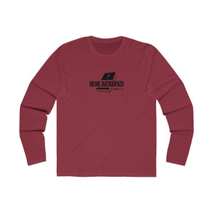 No Me Avergüenzo Men's Long Sleeve Crew Tee
