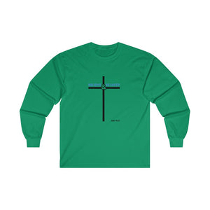 Believe and Be Saved 2.0 Men's Ultra Cotton Long Sleeve Tee