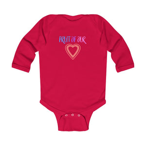 Fruit of our Love Infant Long Sleeve Bodysuit