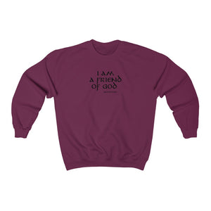 I Am A Friend Of God Men Unisex Heavy Blend™ Crewneck Sweatshirt