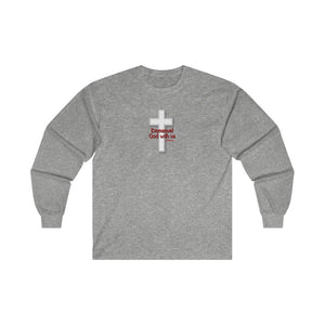 Emmanuel God With Us Men's Ultra Cotton Long Sleeve Tee