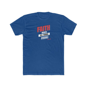 Faith Men's Cotton Crew Tee