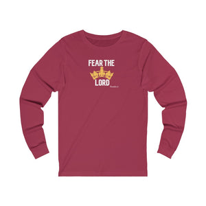 Fear the Lord Men Unisex Jersey Long Sleeve Tee