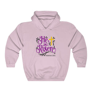 He is Risen Unisex Heavy Blend™ Hooded Sweatshirt