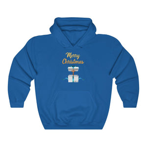 Merry Christmas Unisex Heavy Blend™ Hooded Sweatshirt