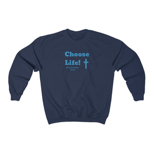 Choose Life 2.0 Women Unisex Heavy Blend™ Crewneck Sweatshirt
