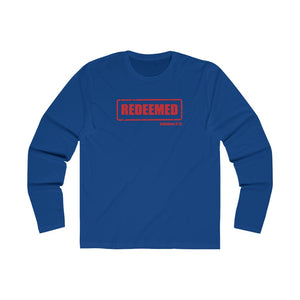 Redeemed Men's Long Sleeve Crew Tee