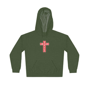 Jesus Saves Men's Unisex Lightweight Hoodie