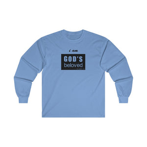 I am God's Beloved Men's Ultra Cotton Long Sleeve Tee
