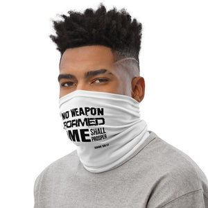 No Weapon Formed Neck Gaiter