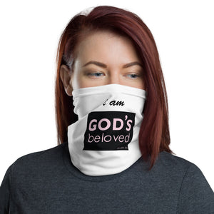 I Am God's Beloved Neck Gaiter