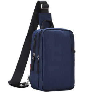 Casual Mini Bag for Men or Women,Navy Blue