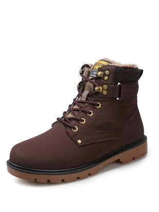 Outdoor Plus Velvet Warm Martin Boots