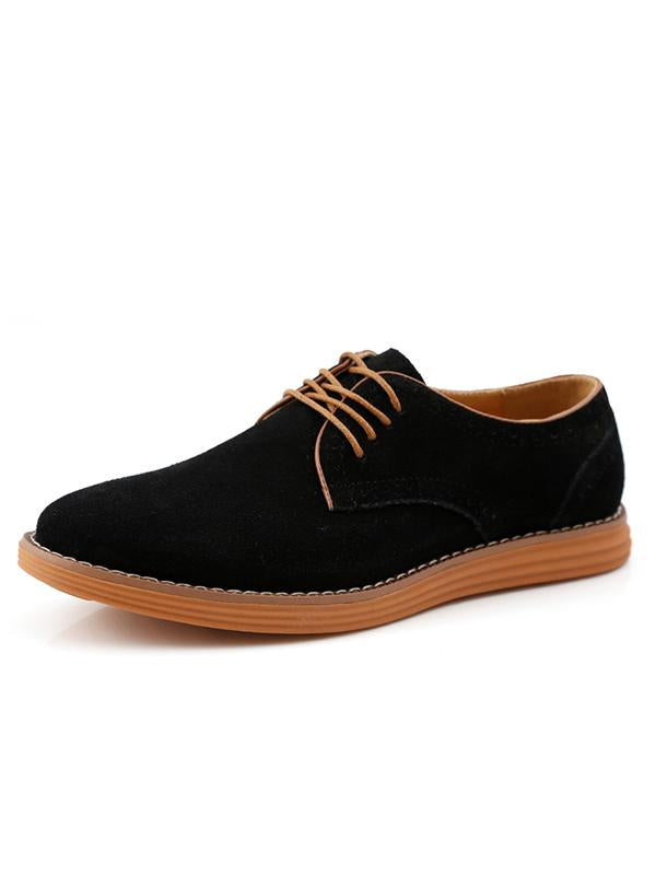 Fashion Brock Suede Casual Shoes