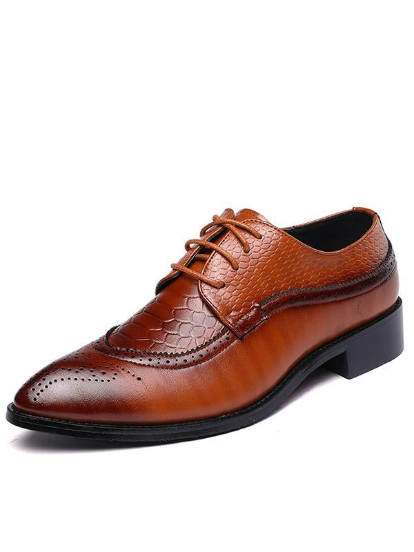 Bullock Lace-up Casual Shoes