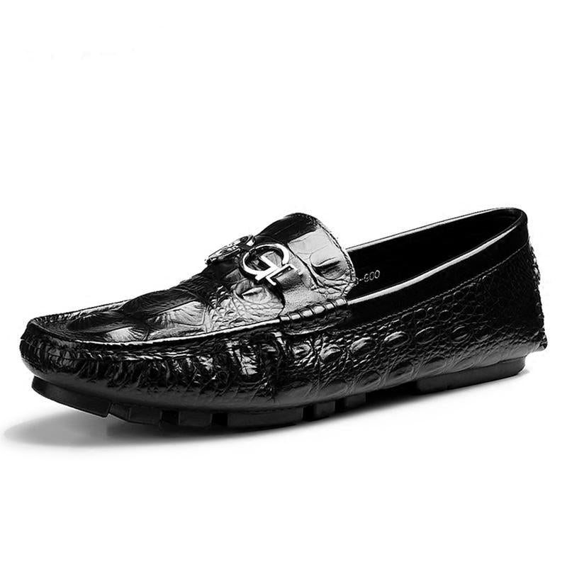 Men's Crocodile Casual Leather Loafers