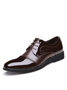 Business Suit Men's Pointed Shoes