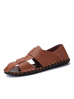 Fashion Soft Leather Sandals