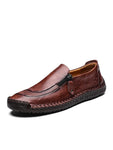 Leather Breathable Casual Handmade Shoes