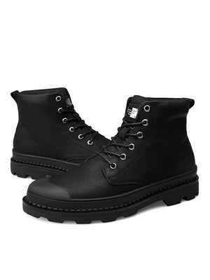 Fashion Leather Martin Boots Military Boots