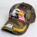 Bald Eagle Casual Wild Baseball Cap