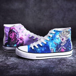 2019 New Seven Dragon Beads Wukong Doodle Hand-Painted Shoes