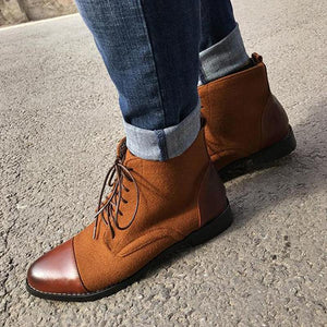 Strap Business Classic Casual Ankle Boots